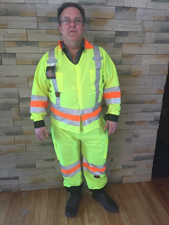 uniforme du signaleur