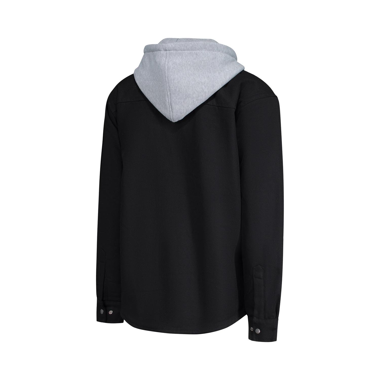 chemise de type manteau dos